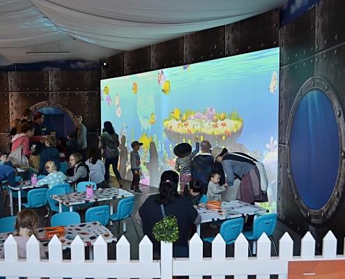 ArtQuarium school holiday activity at Stockland Riverton Shopping Centre