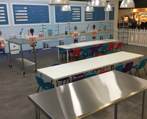Science Lab School Holidays Activity Space at Stockland Riverton Shopping Centre
